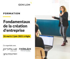 Fondamentaux de la création d'entreprise_GENILEM Promove_ReseauxSociaux